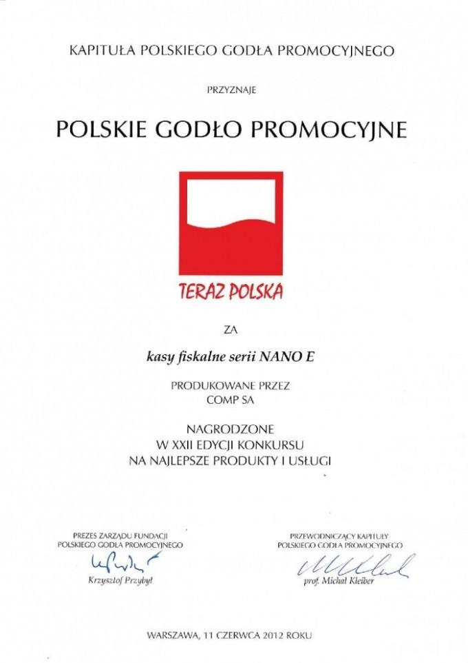 """Godło """"Teraz Polska"""""""